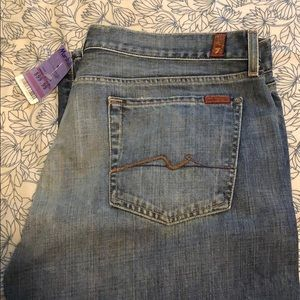 NWT: Men's jeans by 7 For All Mankind
